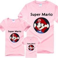 特价 亲子短袖T恤 超级马里奥