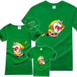 迷彩萌猴亲子装短袖t恤